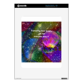 Beauty and universe skin for the iPad