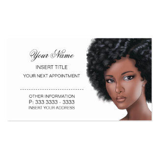 Beauty Appointment Business Card