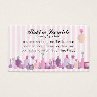 Beauty Bottles Business Card