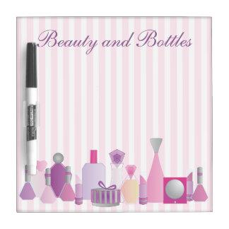 Beauty Bottles Dry Erase Whiteboards