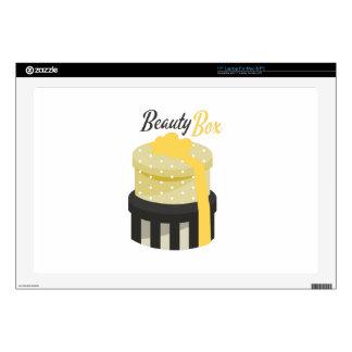 "Beauty Box 17"" Laptop Skin"