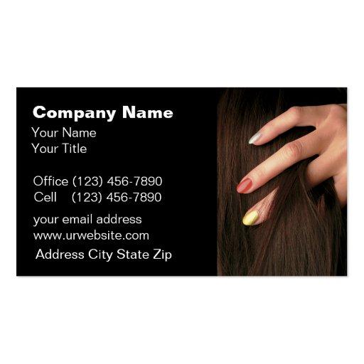 Beauty Business Cards : Zazzle