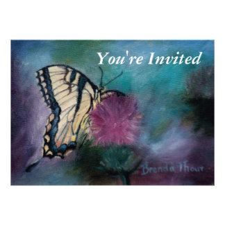 Beauty Butterfly Invitation
