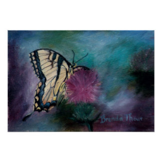 Beauty Butterfly Poster Print