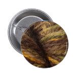 beauty button, woodsman 2 inch round button