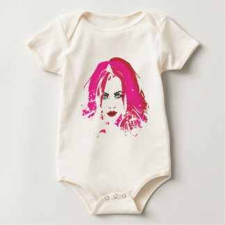 Beauty by punkychicken baby bodysuit
