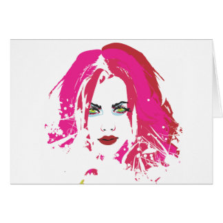 Beauty by punkychicken card