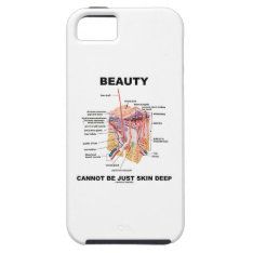 Beauty Cannot Be Just Skin Deep (skin Layers) Iphone Se/5/5s Case at Zazzle