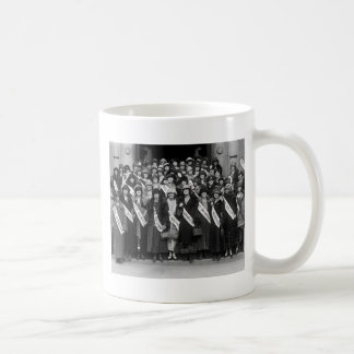 Beauty Contestants, 1923 Coffee Mug