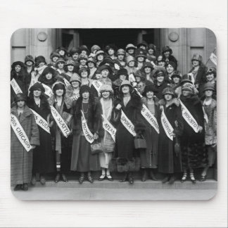 Beauty Contestants, 1923 Mouse Pad