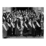 Beauty Contestants, 1923 Post Card