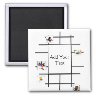 Beauty Divergence Refrigerator Magnet