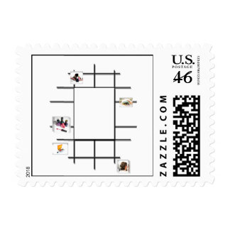 Beauty Divergence Postage Stamp