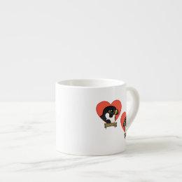 Beauty & Dot.Ca Hearts Espresso Cup