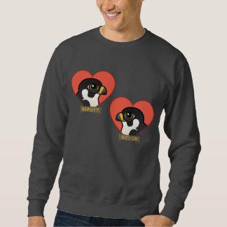 Beauty & Dot.Ca Hearts Sweatshirt