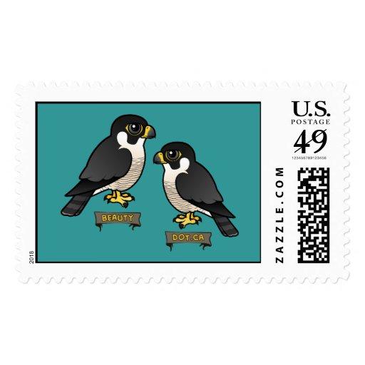 Beauty & Dot.Ca Stamp