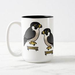 Beauty & Dot.Ca Two-Tone Coffee Mug