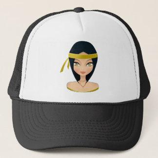 Beauty face trucker hat