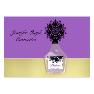 Beauty Fashion Cosmetics Fancy Perfume Bottle Large Business Card
