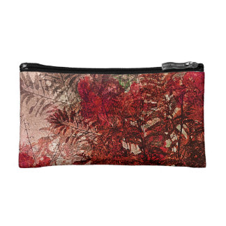 Beauty Floral Collage Cosmetic Bag