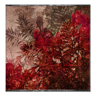Beauty Floral Collage Poster