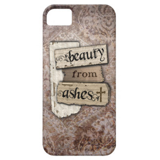 Beauty From Ashes Christian Damask Inspirational iPhone SE/5/5s Case