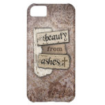 Beauty From Ashes Christian Damask Scrap iPhone 5C Cases