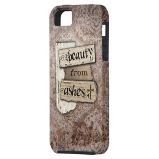 Beauty From Ashes Christian Damask Scrap iPhone 5 Covers