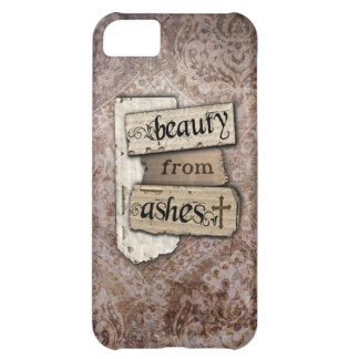 Beauty From Ashes Christian Damask Scrap Case For iPhone 5C