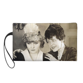 Beauty from Silent Movies Wristlet Clutch
