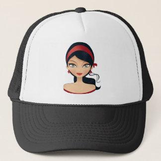 Beauty Girl Trucker Hat