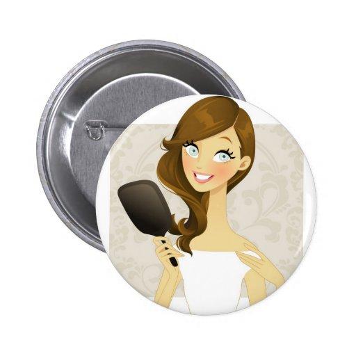 Beauty Girls (Mirror) Pins