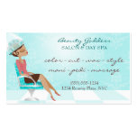 Beauty Goddess Appointment Business Cards