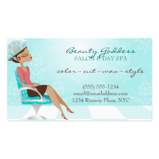 Beauty Goddess Coupon Double-Sided Standard Business Cards (Pack Of 100)