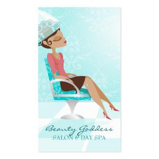Beauty Goddess Vertical Business Card