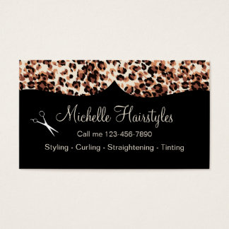 Hairstyle Business Cards & Templates   Zazzle