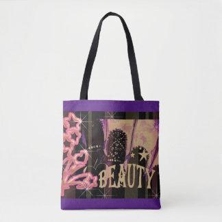Beauty Hearts Tote Bag