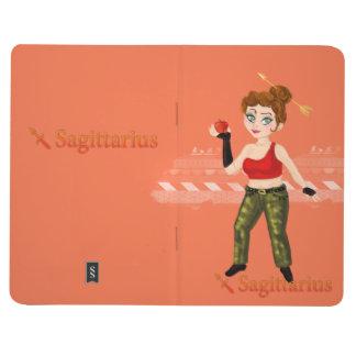 Beauty horoscope Sagitarius Zodiac sign & calendar Journal