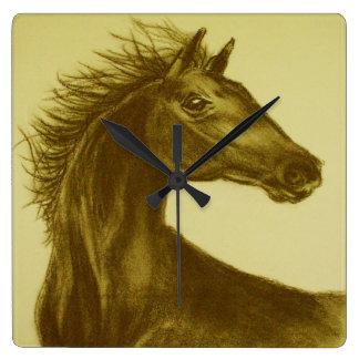 """""""Beauty"""" Horse Wall Clock"""