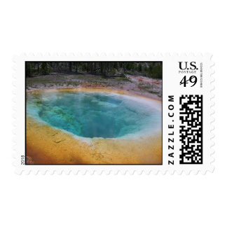Beauty Hot Spring Postage