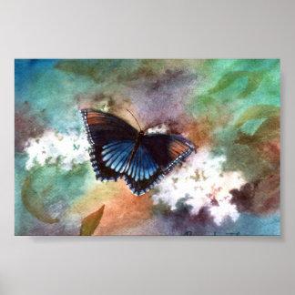 Beauty II Butterfly Poster