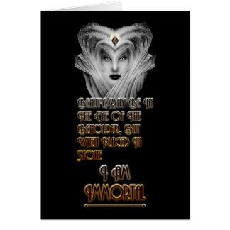 Beauty Immortal - Eye Of The Beholder Card