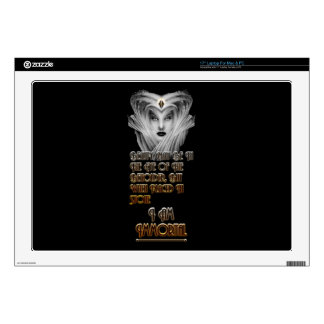Beauty Immortal - Eye Of The Beholder Laptop Decals