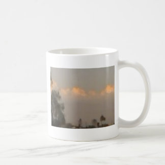Beauty in a cloud bank classic white coffee mug