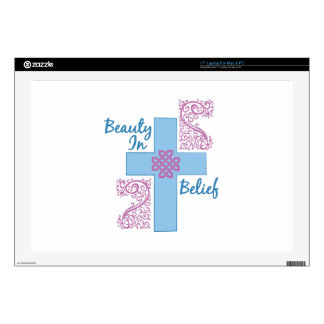 Beauty In Belief Skin For Laptop
