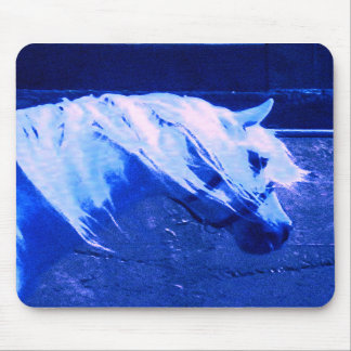 Beauty in Blue - Andalusian Stallion Mouse Pads