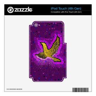 Beauty in Flight iPod Touch 4G Skin