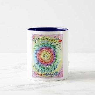 Beauty in Life Rounded Rainbow Mug