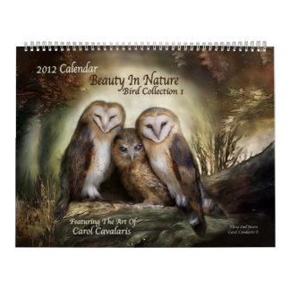 Beauty In Nature - Bird Collection Calendar 2012