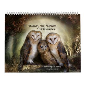 Beauty In Nature Birds Art Calendar